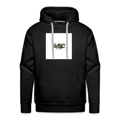 Clean Finish Est 2017 - Men's Premium Hoodie