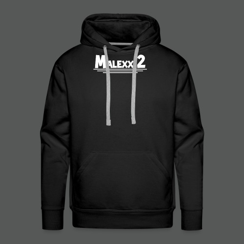 MALEXX12 logo png - Men's Premium Hoodie