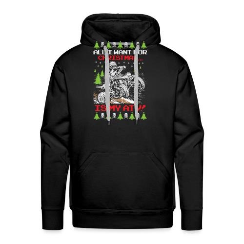 Ugly Christmas ATV Quad - Men's Premium Hoodie