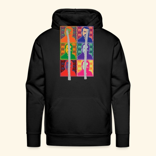 Dick Law Firm: Pop Art Design - Men's Premium Hoodie