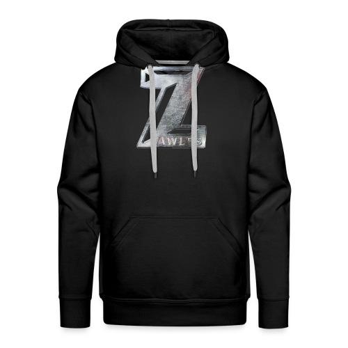 Zawles - metal logo - Men's Premium Hoodie