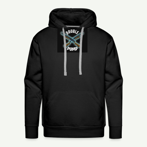 Double Pump - Men's Premium Hoodie