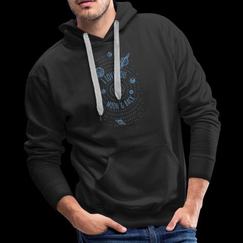 I Love You to the Moon & Back - Men's Premium Hoodie