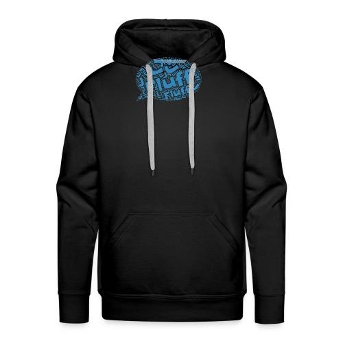 Fluff J Logo - Men's Premium Hoodie