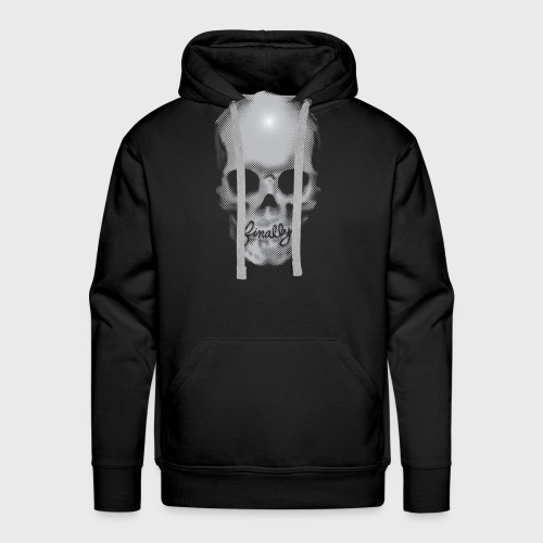 Finally Skull - Men's Premium Hoodie