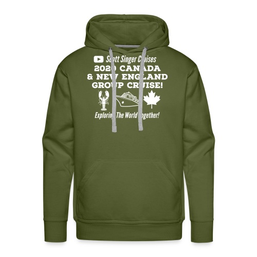 2020 Canada & New England Group Cruise - Men's Premium Hoodie