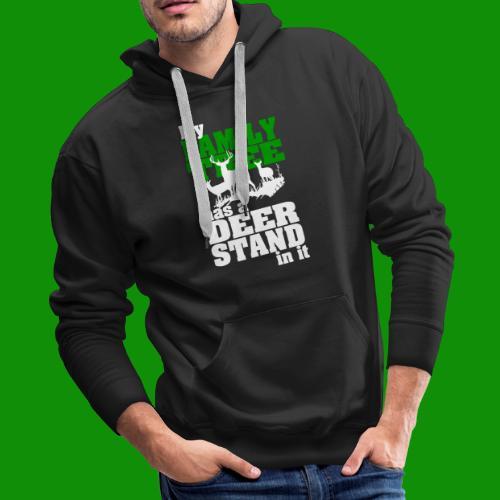Deer Stand Family Tree - Men's Premium Hoodie