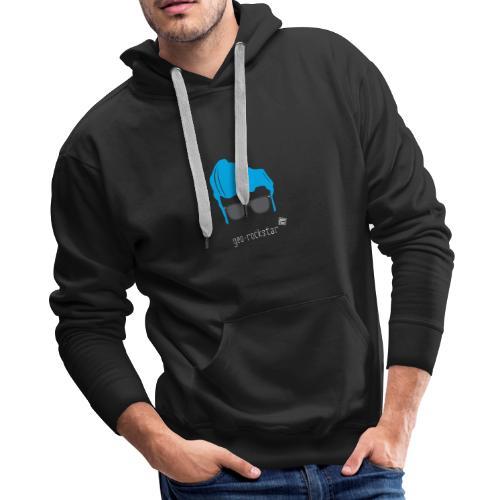 Geo Rockstar (him) - Men's Premium Hoodie