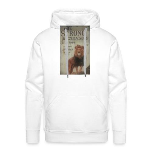 lion updates picture - Men's Premium Hoodie