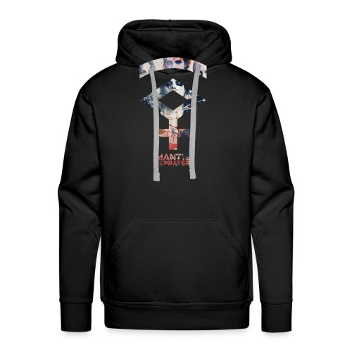 Mantis and the Prayer- Symbol Design - Men's Premium Hoodie