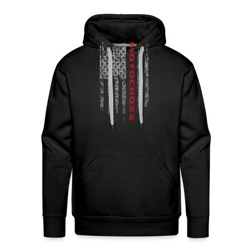 Motocross United - Men's Premium Hoodie