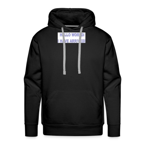 Hello World - Men's Premium Hoodie