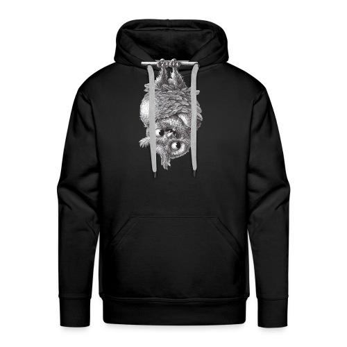 Vampire - Dracula Owl - Men's Premium Hoodie