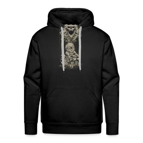 ATV Skully Skull Tree - Men's Premium Hoodie