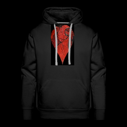 Heart Drop - Men's Premium Hoodie