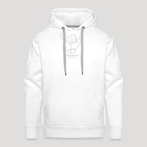 Grey Shaka for Black Clothing - Men's Premium Hoodie