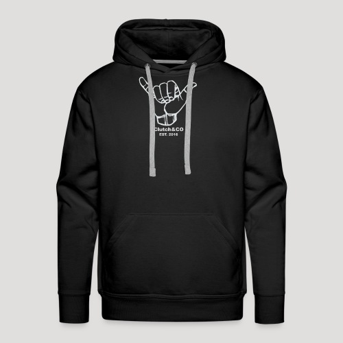 Grey Shaka for Black Clothing - Men's Premium Hoodie