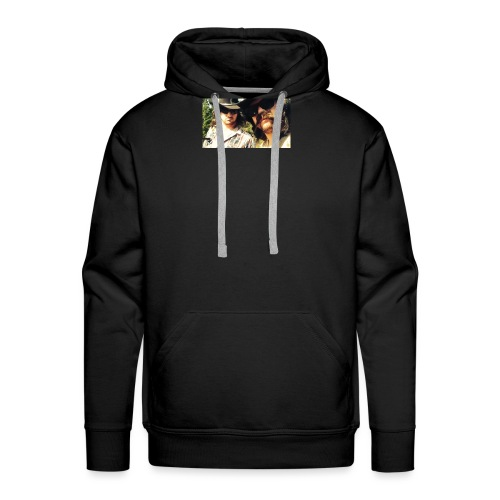 Jaw Thrust Cover Art - Men's Premium Hoodie