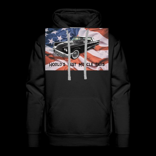 World's Best Muscle Cars - Men's Premium Hoodie