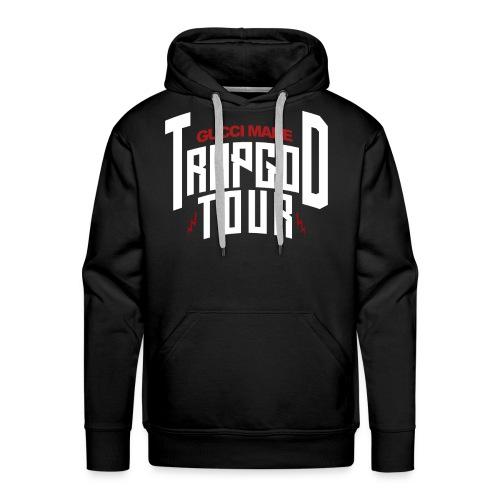 Trapgod tour 1 png - Men's Premium Hoodie