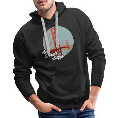 Bay Area Buggs Bridge Design - Men's Premium Hoodie