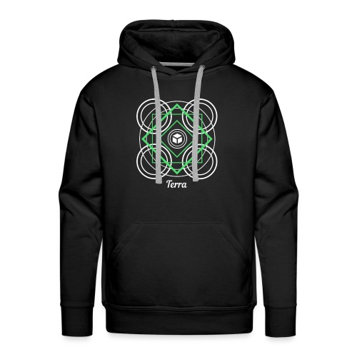 Terra Earth Element Alchemy Design - Men's Premium Hoodie