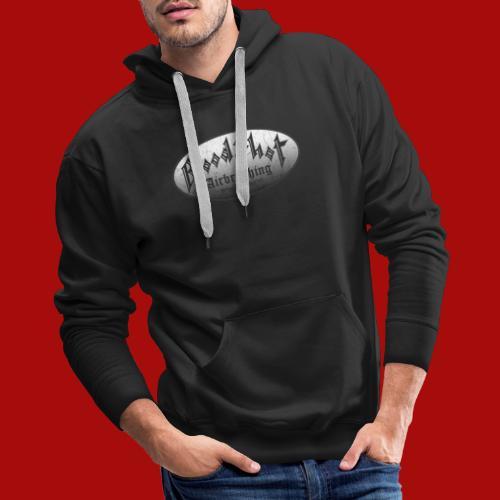 BloodShot Airbrushing Logo - Men's Premium Hoodie