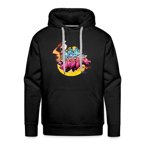 Hideout - NYG Design 2 - Men's Premium Hoodie
