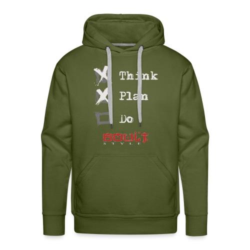 0116 Think Plan Do - Men's Premium Hoodie