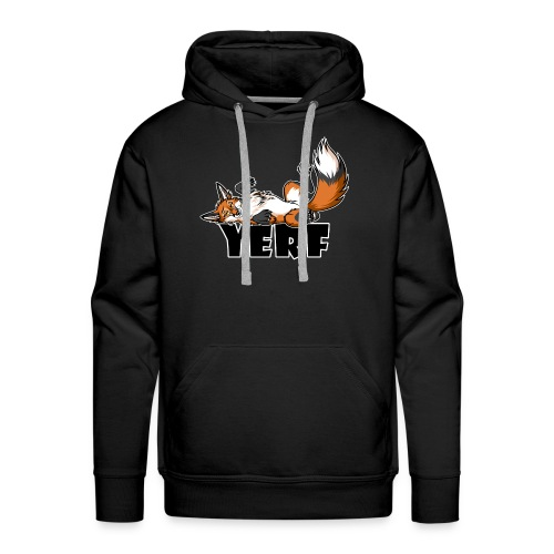 Lazy YERF FOX / FOXES - Men's Premium Hoodie