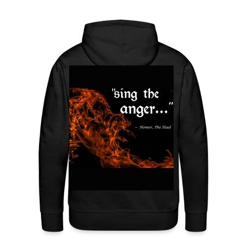 sing the anger - Men's Premium Hoodie