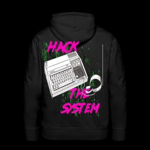 hack the system - Men's Premium Hoodie