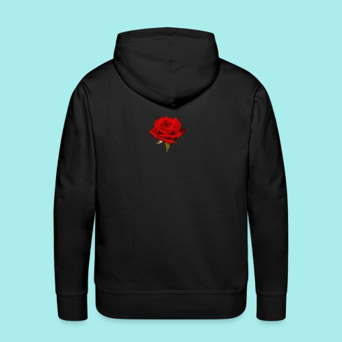 Rose For My Sweet - Men's Premium Hoodie