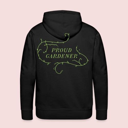 The Proud gardener - Men's Premium Hoodie