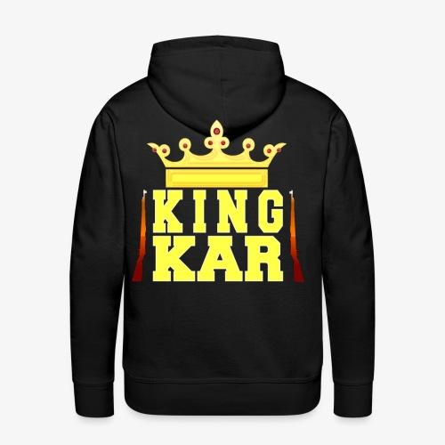 Crowned To King Kar - Men's Premium Hoodie