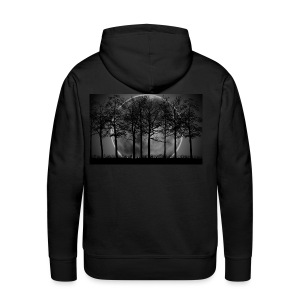 7034869 moon night art - Men's Premium Hoodie