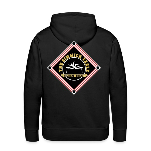 The Gimmick Table Wrestling Podcast - Men's Premium Hoodie