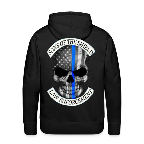 SONS OF THE SHIELD (corrected) - Men's Premium Hoodie
