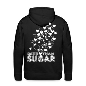 SWEETER THAN SUGAR - Men's Premium Hoodie
