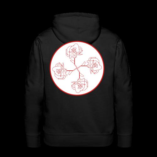 Rose Ornament - Men's Premium Hoodie