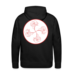 Rose Ornament - Men's Premium Hoodie
