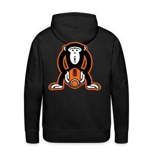 Monkey-Football - Men's Premium Hoodie