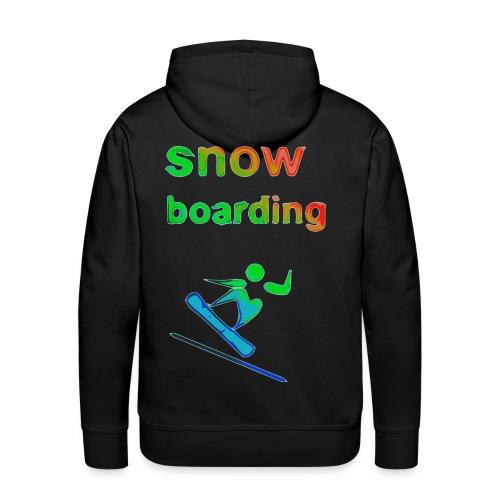 snowboarding Winter Games 2reborn - Men's Premium Hoodie