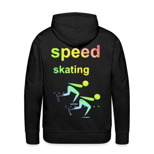 speed skating Winter Games 2reborn - Men's Premium Hoodie