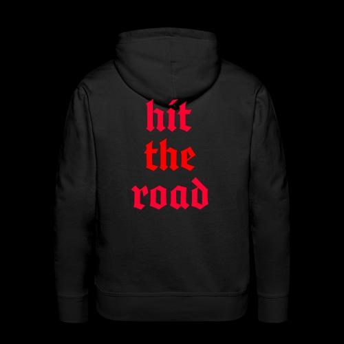 Hit The Road - Men's Premium Hoodie
