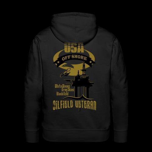 USA Oilfield Veteran - Men's Premium Hoodie