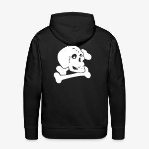 White Skull - Men's Premium Hoodie