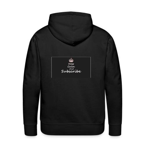 Keep Calm Merch - Men's Premium Hoodie