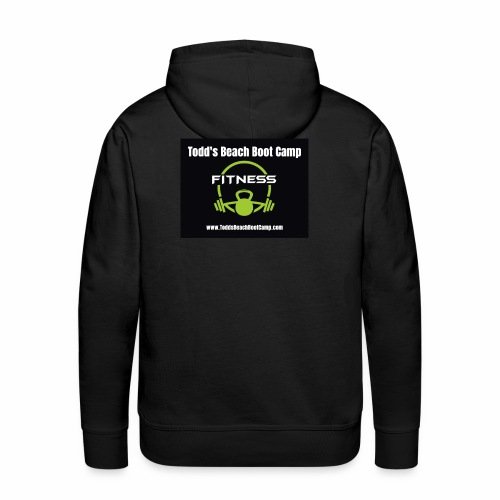 fitness icon vector - Men's Premium Hoodie