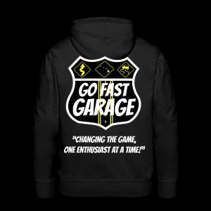 Go Fast Garage - Men's Premium Hoodie